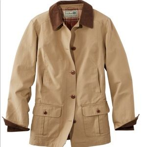 LL Bean Ladies' Medium Barn Coat